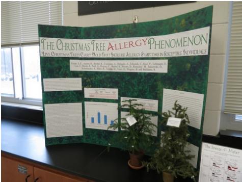 WMC AP Biology Class Turns Moldy Trees into a National Publication