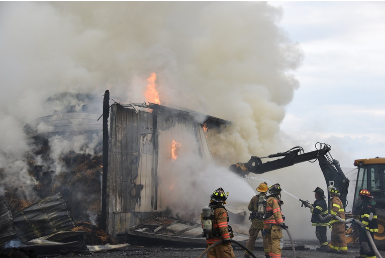 Donaldson Farms Recovers from Disastrous Fire