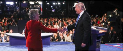 Trump, Clinton, Continue Antics at First Presidential Debate