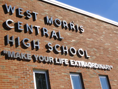 Photo credit: wmchs.org Caption: West Morris Central High School, the site of contract controversy.