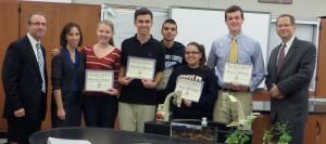 Congratulations to Mrs. Gizas's Advanced Placement Bio Class!