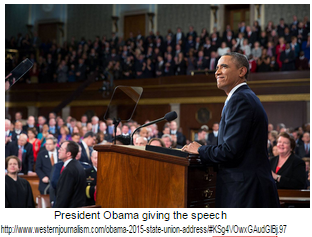 President Obama Delivers His Second to Last State Of The Union Address