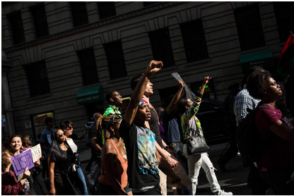 Tension explodes into violent protests in Baltimore