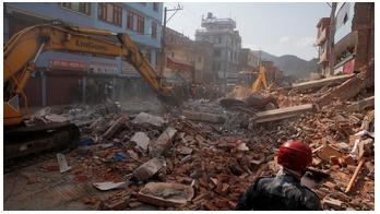 Second Earthquake Shakes Nepal
