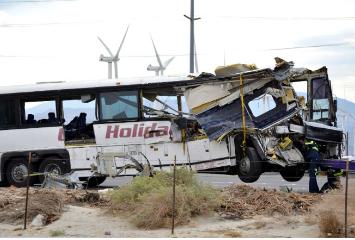 Tour Bus Crash Devastates with 13 Deaths