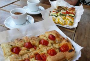 Starbucks to Sell Princi Pizza and Italian Food