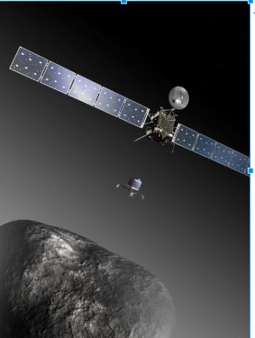 Rosetta Space Probe Crashes into Comet
