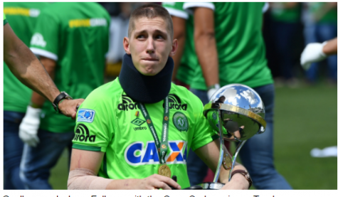 Chapecoense Soccer Rebounds From Tragedy