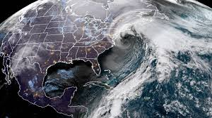 Winter Storm and Cold Front Hits Across East Coast