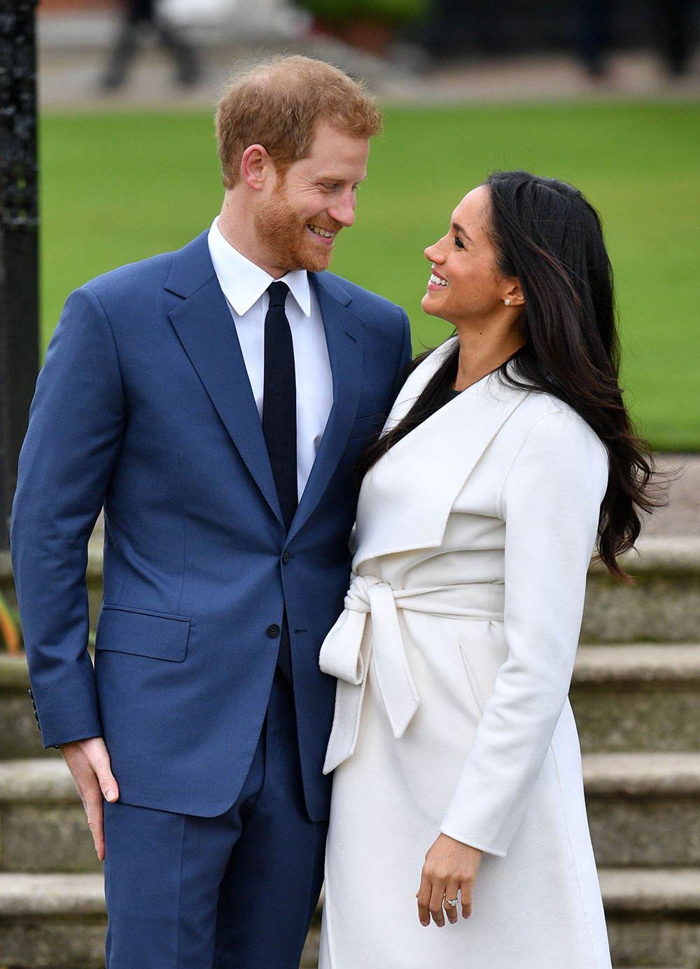 Mandatory Credit: Photo by Tim Rooke/REX/Shutterstock (9243868z) Prince Harry and Meghan Markle Prince Harry and Meghan Markle engagement announcement, Kensington Palace, London, UK - 27 Nov 2017
