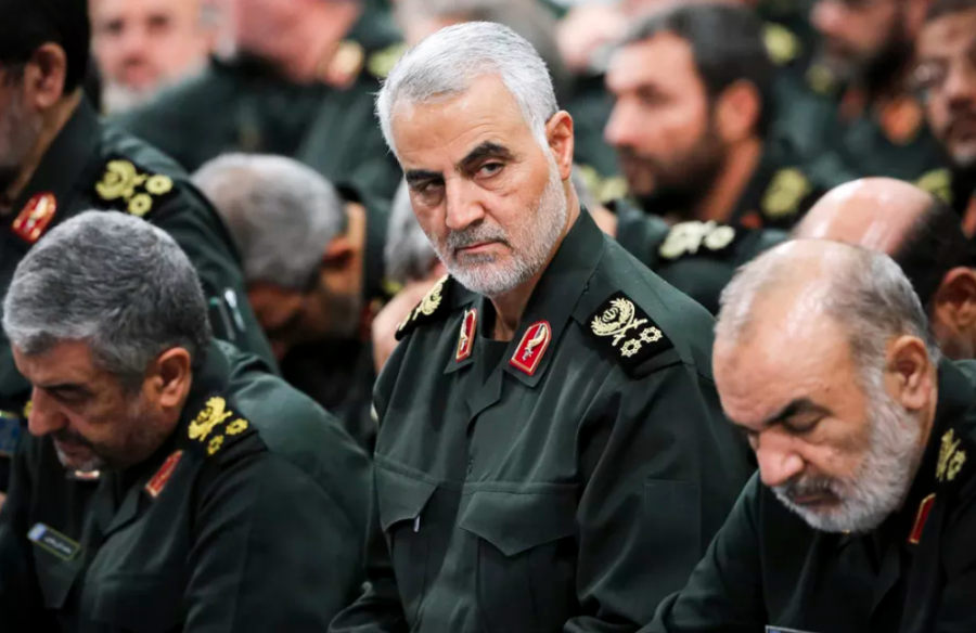 Iranian+General+Qasim+Soleimani%2C+pictured+here+in+2016%2C+was+recently+killed+by+a+US+airstrike+in+Baghdad%2C+sparking+an+international+crisis+that+caused+many+to+liken+it+to+1914.+Photo+credits%3A+Office+of+the+Iranian+Supreme+Leader+via+AP.