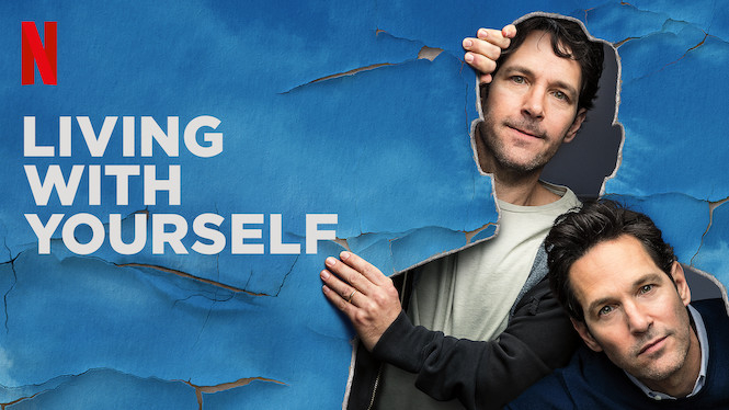 Living with Yourself poster.   via Netflix