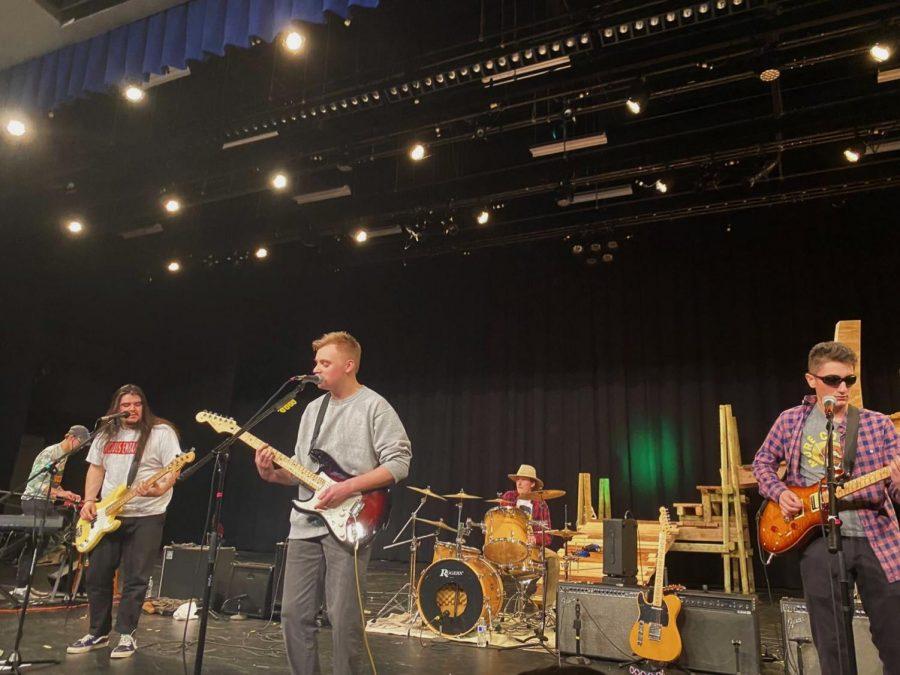Pictured left to right, Sean Jenkins, Mikey Sanchez, Declan Ohara, Garrett Arndt and Brandon Marchetta.