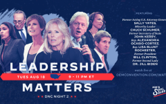 Promotional graphic for the second night of the Democratic National Convention, featuring a mix of rising stars within the party and the old guard. While the official nomination of Joe Biden featured an opportunity to show off the party's sociopolitical and generational diversity, it also revealed a part less comfortable with its ideological identity and an ensuing pivot into Biden's personal characteristics of moral decency. Graphic credits: Joe's Soul Squad.