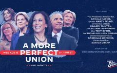 Promotional graphic for the third night of the Democratic National Convention, featuring a lineup of party heavyweights—nearly all female, for the 100th anniversary of the ratification of the 19th amendment—who focused on Biden's policy plans and Democrats' vision for America. Graphic credits: Joe's Soul Squad.