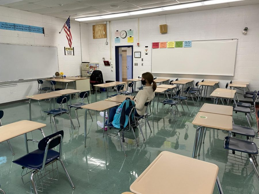 In person class sizes are sometimes as small as just one student