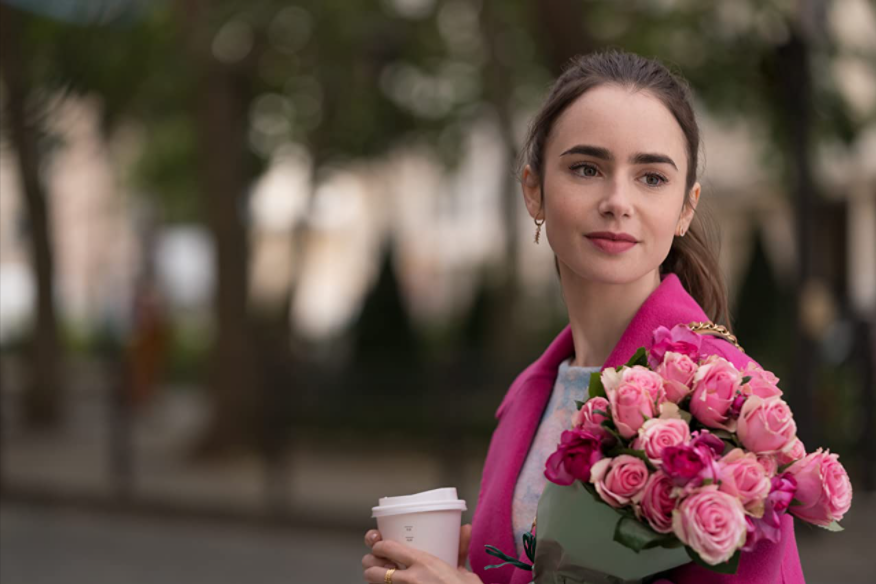 Lily Collins as title character Emily Cooper