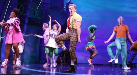 Spongebob the musical on Broadway