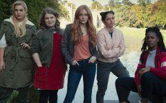 The main cast of Fate: The Winx Saga, the main five girls.