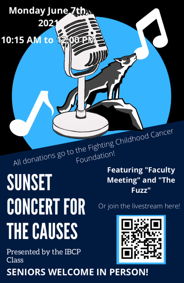 Sunset Concert for Causes Poster