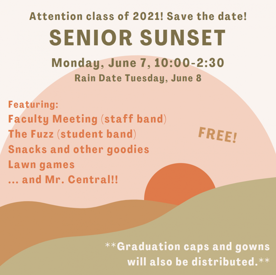 Senior Sunset Graphic
