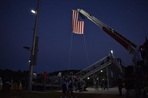 9/11 20th Anniversary Ceremony at West Morris Central