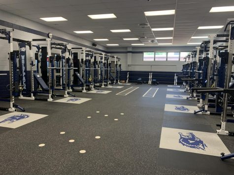Overview of New Weight Room